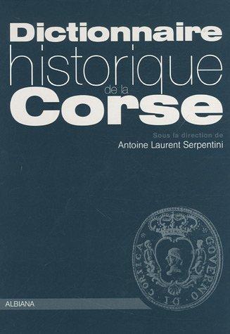 9782846980685: Dictionnaire historique de la Corse
