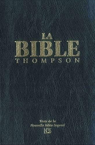 9782847001358: la Bible Thompson nbs (nouvelle Bible Segond) sans onglets