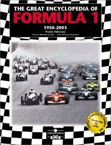 The Great Encyclopedia of Formula One: Menard, Pierre
