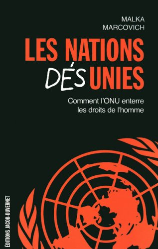9782847241976: Les Nations Désunies (French Edition)