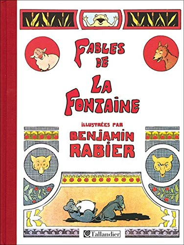 9782847341157: Fables de La Fontaine : Illustrées par Benjamin Rabier, 310 Compositions dont 85 en couleurs