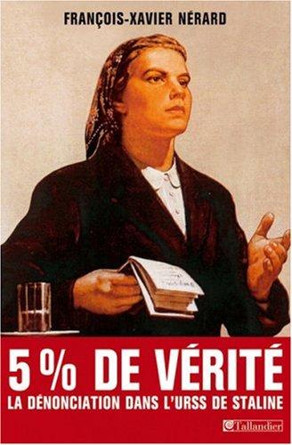 9782847341294: Cinq pour cent de vérité : Dénonciations