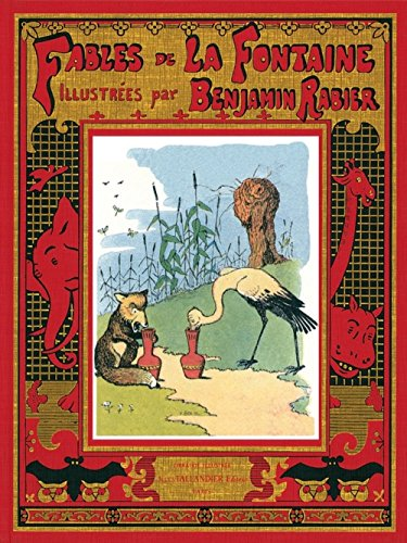 9782847341980: Fables de La Fontaine (Luxe)(Les) (English and French Edition)
