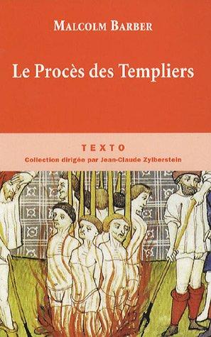 9782847344295: Le Proc�s des Templiers