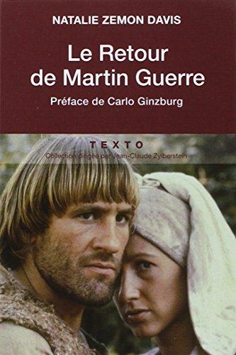 RETOUR DE MARTIN GUERRE (LE): ZEMON DAVIS NATHALIE