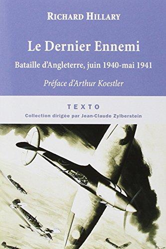 9782847347029: Le Dernier Ennemi (French Edition)