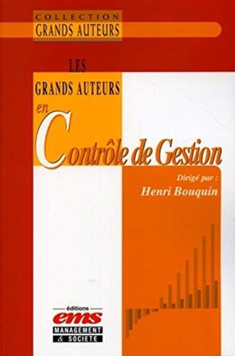 les grands auteurs en contrôle de gestion: Henri Bouquin