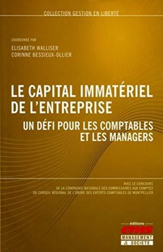 Le capital immatériel de l'entreprise : Un défi pour les comptables et les ...