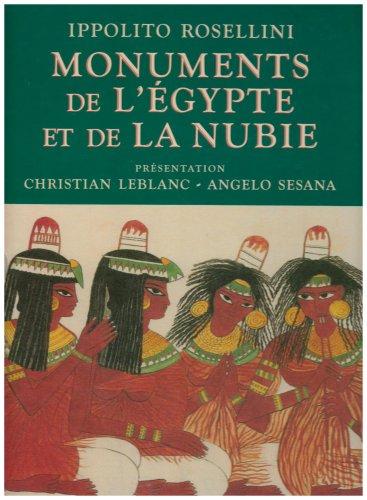 Monuments de l'Egypte et de la Nubie: Rossellini