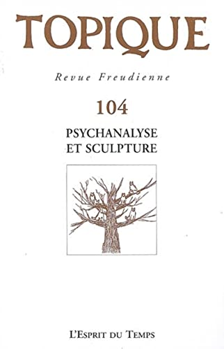 9782847951288: Topique, N° 104 (French Edition)