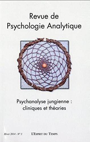 Revue de Pychologie Analytique N 3: Collectif