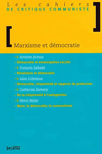 9782847970531: Marxisme et D�mocratie
