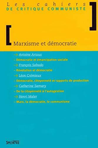 9782847970531: marxisme et democratie