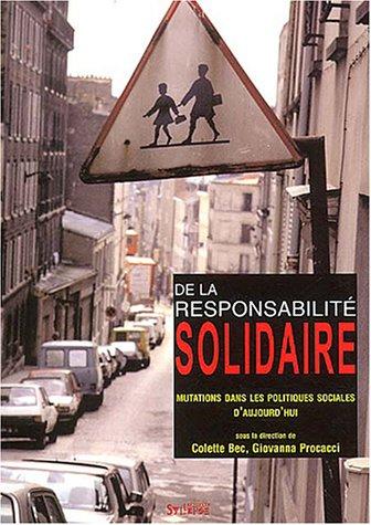 9782847970623: De la responsabilit� solidaire