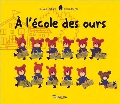 9782848011196: A l'école des ours