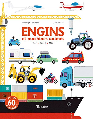9782848016214: Engins Et Machines Animes (Tb.Anim'action) (French Edition)