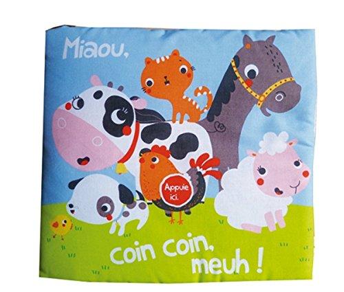 9782848018614: Miaou Coin Coin Meuh (Tb.Livre Tissu) (French Edition)