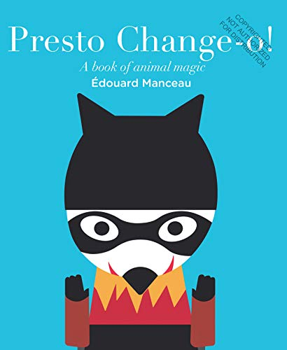9782848019444: Presto Change-O: A Book of Animal Magic