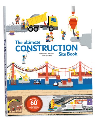 9782848019840: The Ultimate Construction Site Book (The Ultimate Book of)