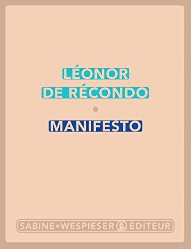 9782848053141: Manifesto