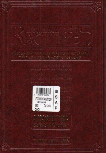 9782848280561: HOUMACH RACHI - LE COMMENTAIRE DE RACHI SUR LA TORAH : GENESE / BERECHIT
