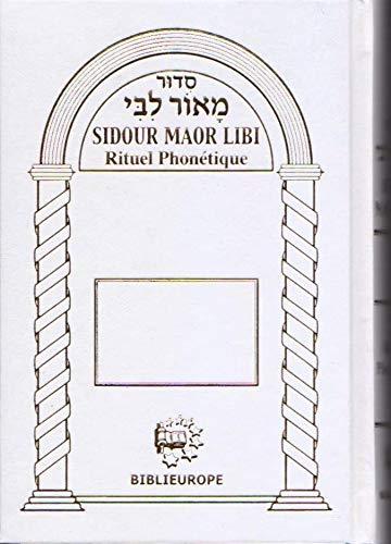 9782848281452: Sidour maor libi' rituel phon�tique