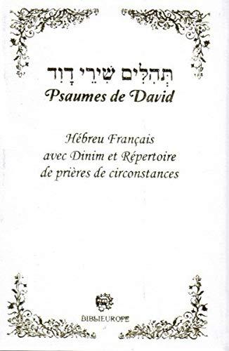 9782848281513: Psaumes de David' hébreu-français