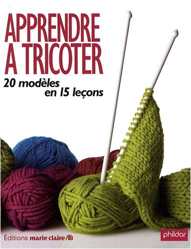9782848311401: Apprendre à tricoter : 20 modèles en 15 leçons