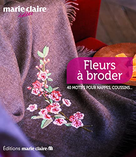 9782848312026: Fleurs à broder (French Edition)