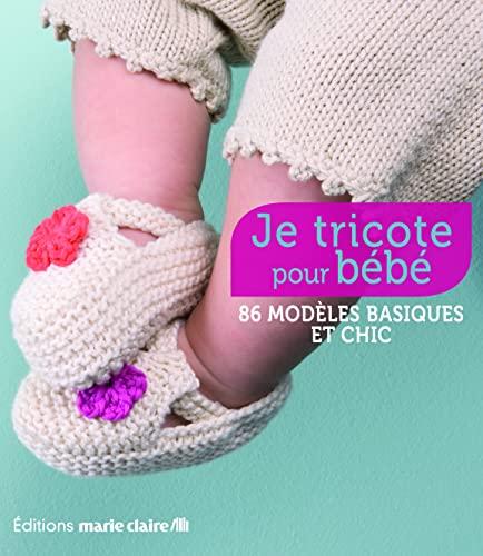 9782848312446: je tricote pour bébé