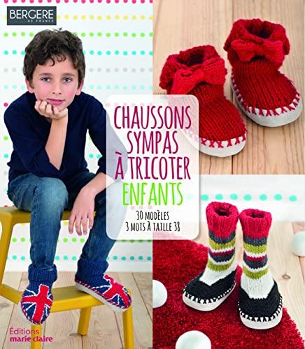 9782848318158: Chaussons sympas à tricoter