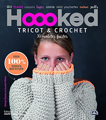 9782848319490: Hoooked : Tricot & crochet