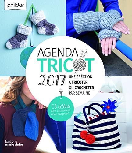 Agenda tricot 2017 : Une création à: Phildar