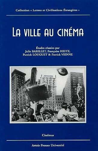 9782848320328: La ville au cinéma (French Edition)