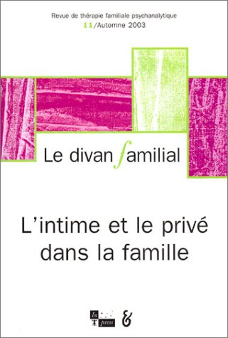 Divan familial (Le), no 11: Collectif