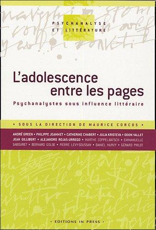 Adolescence entre les pages (L'): Corcos, Maurice