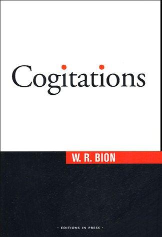 9782848350790: Cogitations