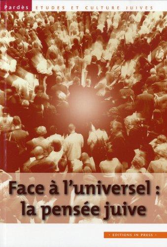 Face à l'universel: la pensée juive, no 49: Trigano, Shmuel