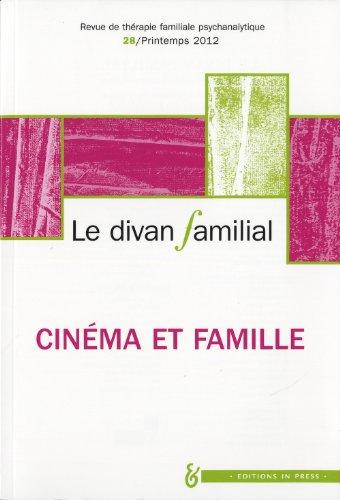 REVUE LE DIVAN FAMILIAL T.28; l'inconscient familial au cinéma
