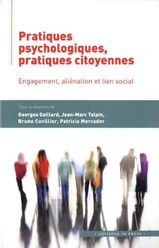Pratiques psychologiques, pratiques citoyennes: Collectif