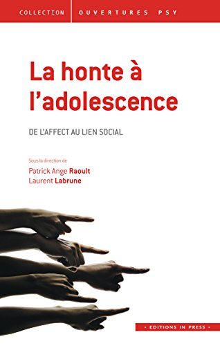 Honte à l'adolescence (La): Raoul, Patrick Ange