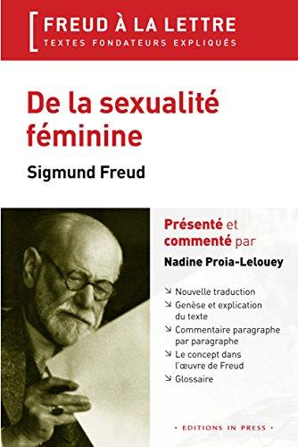DE LA SEXUALITE FEMININE: FREUD SIGMUND