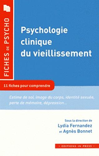 9782848353272: Psychologie clinique du vieillissement