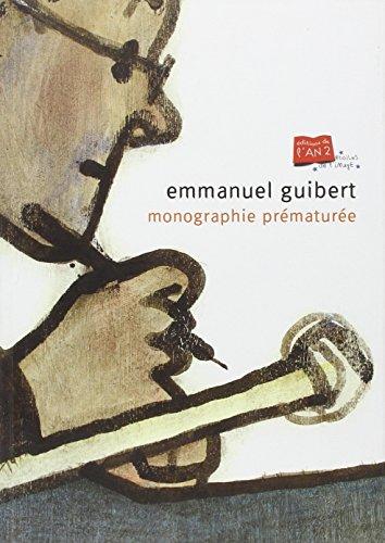9782848560656: Emmanuel guibert, monographie prematuree (Etoiles de l'image)