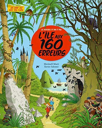 9782848654690: Les aventures de Pam et Paul : L'île aux 160 erreurs