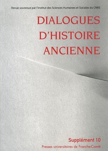 Dialogues d'Histoire Ancienne, Supplement 10/2014. Identité Ethnique: Christel Müller; Anne-Emmanuelle