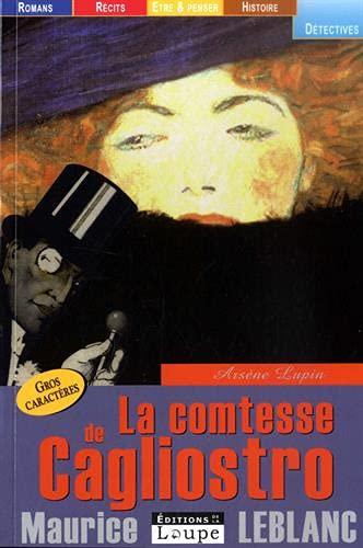 9782848680538: La Comtesse de Cagliostro (grands caractères)
