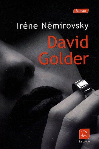 9782848682518: David Golder (grands caractères)