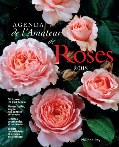 9782848760902: Agenda Roses 2008 (French Edition)