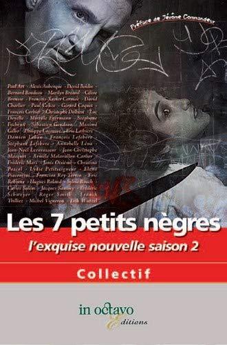 9782848781938: Les 7 Petits Negres